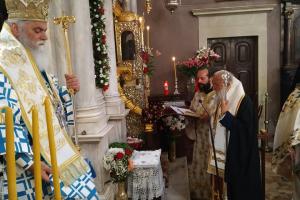 Αρχιερατικό συλλείτουργο για το θαύμα του Αγίου Σπυρίδωνα