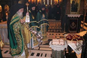 Ο πρώτος πανηγυρικός εορτασμός του Οσίου Ιωσήφ του Ησυχαστού στο Τρίκορφο Φωκίδος
