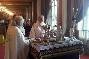 Λαμπρός ο εορτασμός της Κοιμήσεως της Θεοτόκου στην Ι. Μητρόπολη Καλαβρύτων και Αιγιαλείας