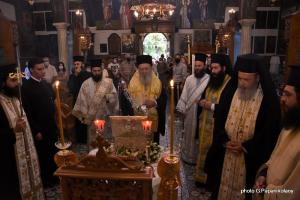 Υποδοχή της Τιμίας Κάρας του Αγίου Ιωάννου του Προδρόμου στη Χαλκίδα