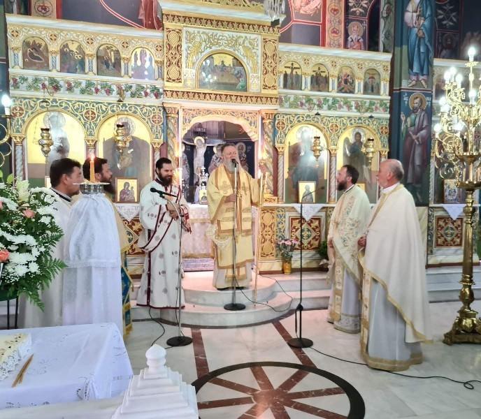 Η Χαλκίδα τίμησε τη μνήμη του Αγ. Νεομάρτυρας Τριανταφύλλου και του νέου Αγίου της Εκκλησίας μας Καλλινίκου του Εδέσσης