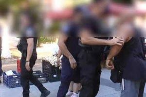 """Σέρρες: """"Ήρθαν στα χέρια"""" με αστυνομικούς για την μάσκα – Τους επιβλήθηκε πρόστιμο"""