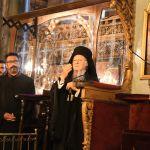 """Οικουμενικός Πατριάρχης: """"Έχουμε πολλούς εχθρούς, αλλά τους αγκαλιάζουμε όλους με αγάπη"""""""