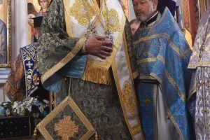 Ο Μητροπολίτης Γαλλίας Εμμανουήλ στο Κίεβο για την εορτή της Κοιμήσεως της Θεοτόκου