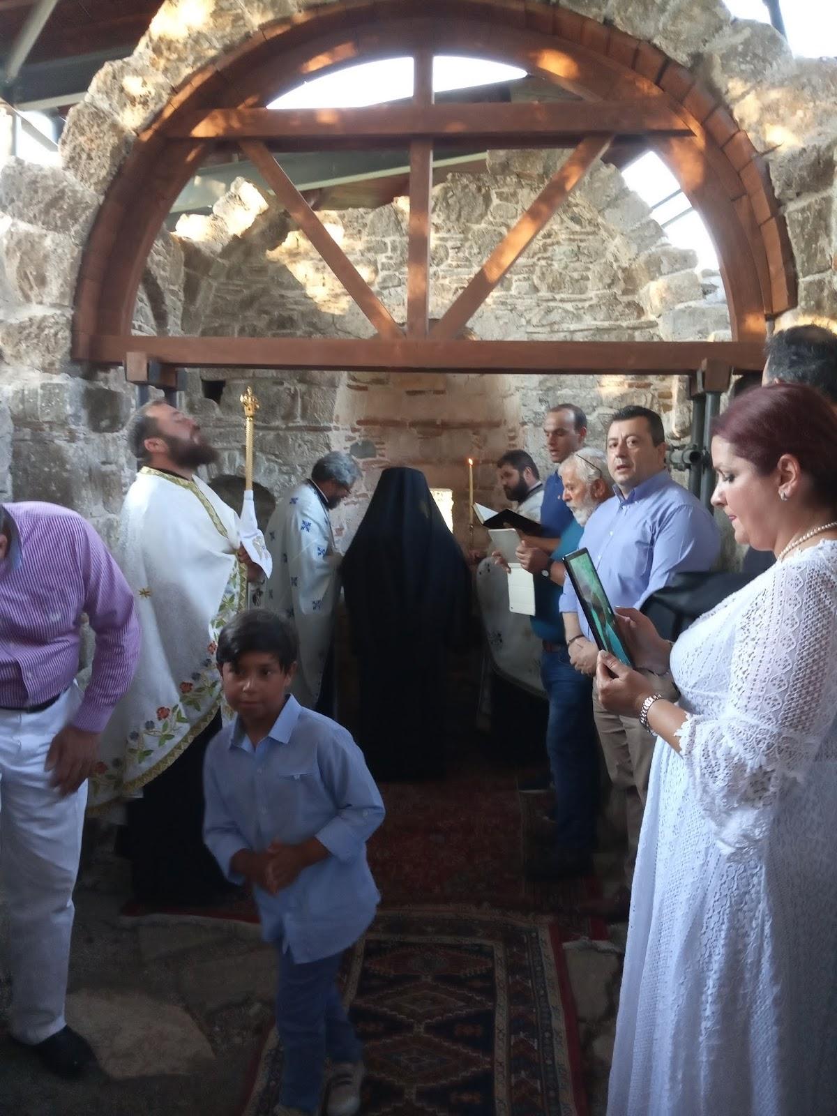 Φωτορεπορτάζ από τα θυρανοίξια στην Ιερά Μονή Χριστού