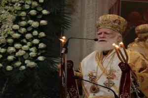O σεβαστός Γέρων Κρήτης Ειρηναίος είπε το εκκλησιαστικώς αυτονόητο και κόντεψαν να τον ρίξουν στο γιαλό!