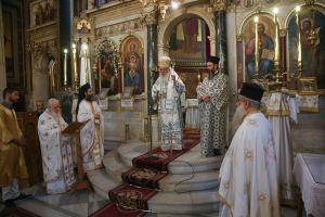 Προεξάρχοντος του Αρχιεπισκόπου η πανήγυρις της Παναγίας Χρυσοσπηλιώτισσας