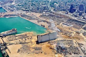 Η Ι.Μ. Ταμασού στο πλευρό του δοκιμαζόμενου λαού της Βηρυτού