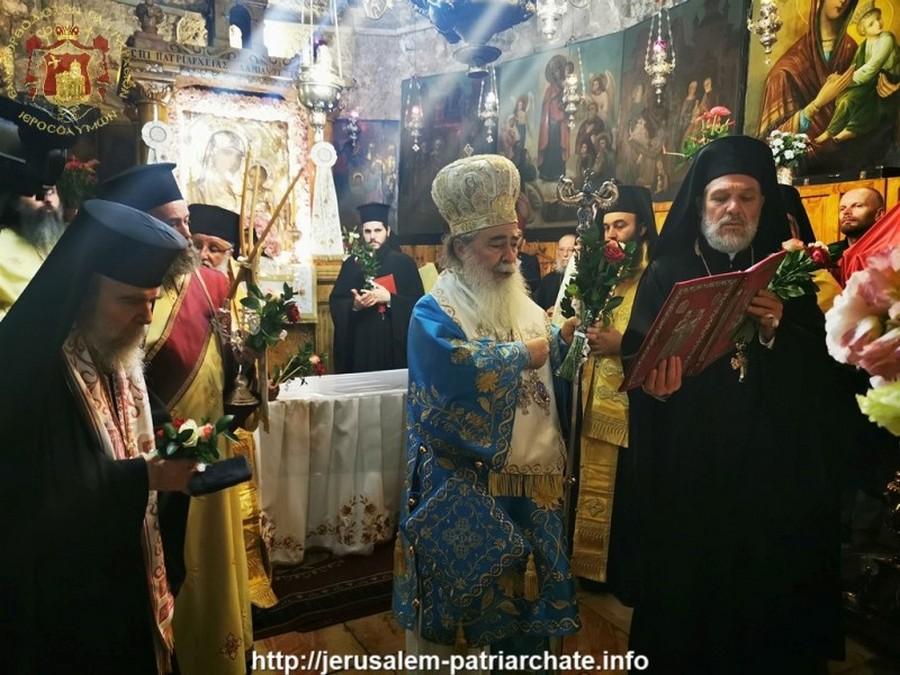 Τα Εγκώμια της Παναγίας στο Πατριαρχείο Ιεροσολύμων