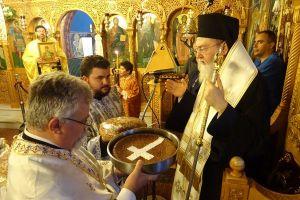 Από τον Άγιο Φανούριο Λουτρακίου ο π. Δημήτριος Φουρλεμάδης: «Πρέπει να είμαστε βιωματικοί Χριστιανοί και όχι τυπολάτρες..»