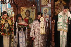 Ο εορτασμός του Αγίου Αρσενίου του εν Πάρω