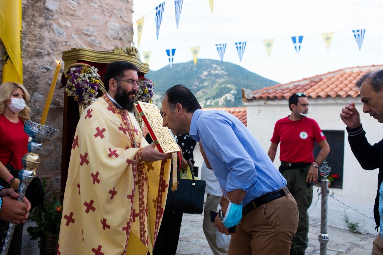 Ξεκίνησαν οι εορταστικές εκδηλώσεις στην Ι. Μονή Δημιόβης Μεσσηνίας.
