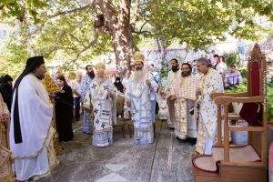 Η Απόδοση της εορτής της Κοιμήσεως της Θεοτόκου στην Φθιώτιδα.