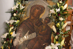 Πανήγυρις Παναγίας της Μηλιώτισσας Αλμωπίας με χειροτονία Πρεσβυτέρου
