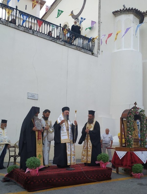 Ο εορτασμός του Γενεθλίου της Θεοτόκου στην Ι. Μητρόπολη Χαλκίδος