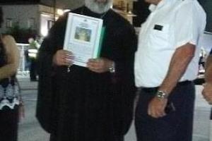 Τιμητική διάκριση στον καπετάν Γιώργο Αρβανίτη του ΕΓ/ΟΓ ΣΑΜΟΣ, τον «καπετάνιο του Αιγαίου» που ξέρει να τιμά τις παραδόσεις