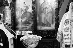 Αρχιερατική Θεία Λειτουργία στον Πλατανιά και Τρίμηνο Μνημόσυνο του μακαριστού Θεοχάρους Λιονάκη