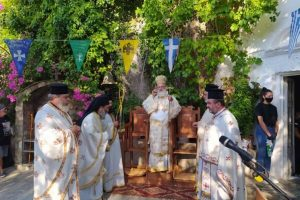 Αχεντριάς Ηρακλείου: Πανηγύρισε το προσκύνημα του Αγίου Νικήτα στην Ι. Μητρόπολη Αρκαλοχωρίου