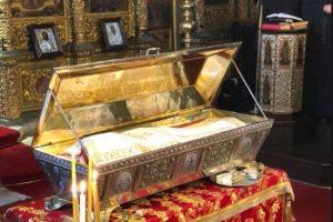 Φανάρι: Αρχιερατική Θεία Λειτουργία – Προσκύνηση στο άφθαρτο λείψανο της Αγίας Ευφημίας