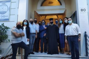 Στον Σύλλογο Ιμβρίων Αθηνών ο νέος Μητροπολίτης Ίμβρου και Τενέδου Κύριλλος