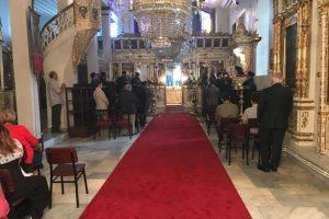 H Πατριαρχική Χοροστασία στον Ι. Ναό Γενεθλίων της Θεοτόκου της Κοινότητος Παλαιού Μπάνιου