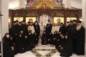 Ανακομιδή λειψάνων Αγίου Νεκταρίου και η εορτή του Οσίου Θεοκτίστου στην Ι. Μητρόπολη Φωκίδος