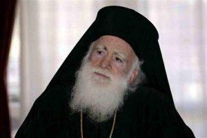 Κρίσιμες οι ώρες για την υγεία του Αρχιεπισκόπου Κρήτης- Έχει εισαχθεί  στην Εντατική