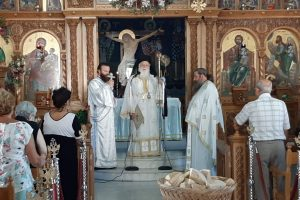 Κυριακή Ι'Γ Ματθαίου στον Ιερό Ναό του Τιμίου Προδρόμου Αμαρύνθου.