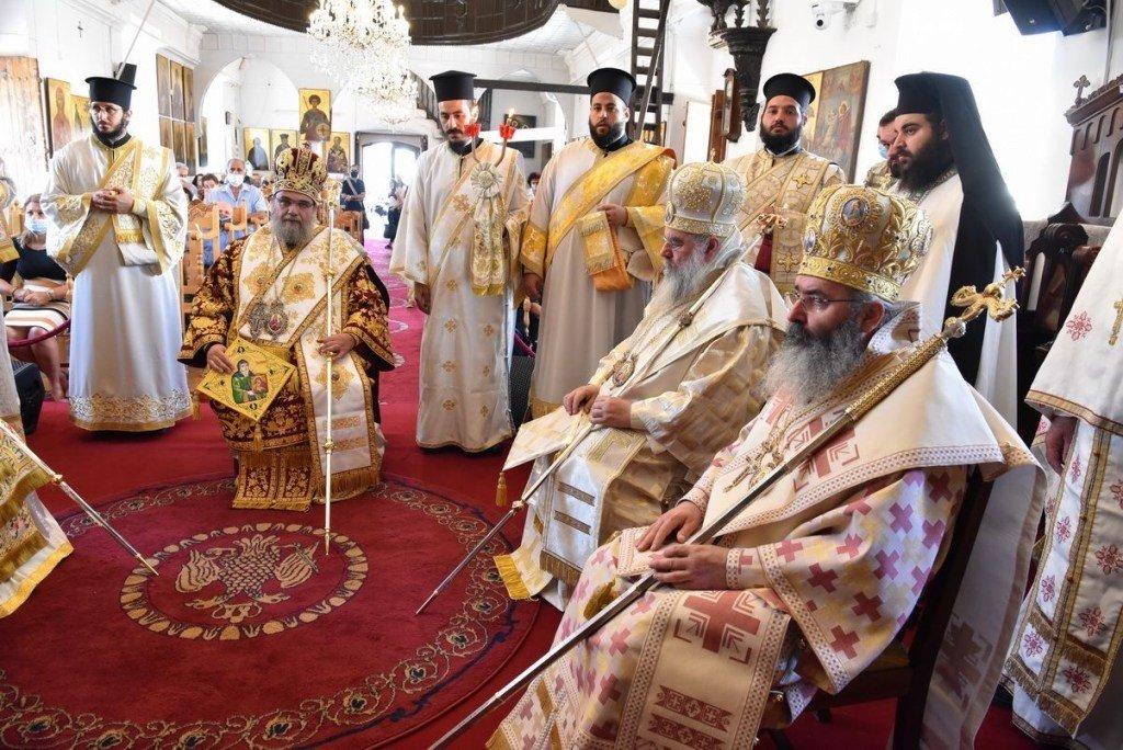 You are currently viewing Με εκκλησιαστική μεγαλοπρέπεια και κατάνυξη τα Ονομαστήρια του Μητροπολίτη Ταμασού Ησαϊα στην Κύπρο