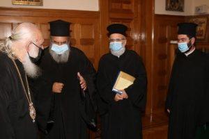 Ο νέος Διευθυντής Σώματος Στρατιωτικών Ιερέων στον Αρχιεπίσκοπο