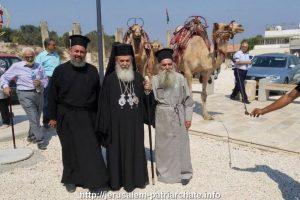 Ο εορτασμός της Αποτομής της Κεφαλής του Τιμίου Προδρόμου στα Ιεροσόλυμα