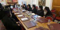 Αποφάσεις της Αγίας και Ιεράς Συνόδου του Πατριαρχείου Ιεροσολύμων- Αλλαγή…φρουράς στην Εξαρχία της Αθήνας
