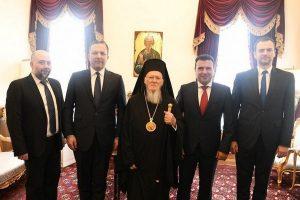 Ζάεφ σε Βαρθολομαίο: Να δοθεί αυτοκεφαλία στη Μακεδονική ορθόδοξη εκκλησία