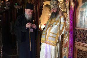 Τα ονομαστήρια του Θεοφ. Επισκόπου Κεγχρεών Αγαπίου, στην Ι. Μητρόπολη Κορίνθου