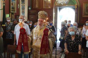 Η εορτή του Γενεθλίου της Θεοτόκου στην πευκόφυτη περιοχή των Χρούσων Σύρου