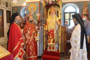 Η Άνδρος τίμησε την Ιερά Μνήμη των Αγίων Μαρτύρων Σοφίας, Πίστεως, Αγάπης και Ελπίδος