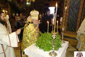 Η Ύψωση του Τιμίου Σταυρού στον Μητροπολιτικό Ναό Ευαγγελιστρίας Σπάρτης