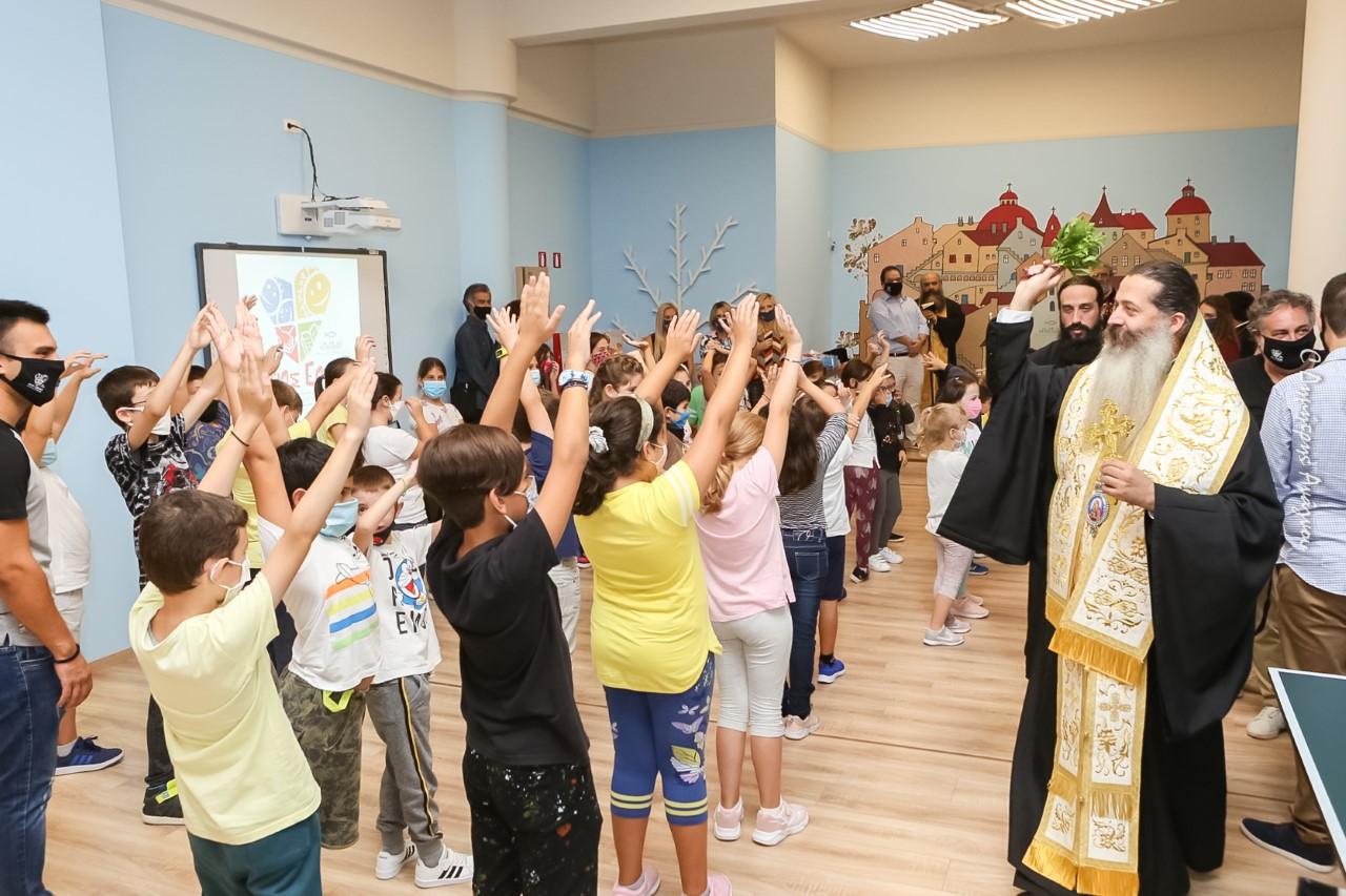 Ιερά Μητρόπολη Φθιώτιδος και η «ΑΠΟΣΤΟΛΗ» άνοιξαν την αγκαλιά τους για όλα τα παιδιά της Λαμίας. • Τέθηκε σε λειτουργία το Κ.Δ.Α.Π. «ΑΓΙΟΣ ΕΦΡΑΙΜ».