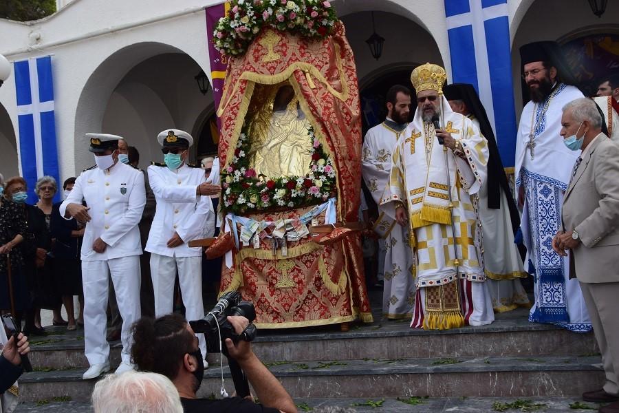 Η Πύλος εόρτασε την πολιούχο της Παναγία Μυρτιδιώτισσα