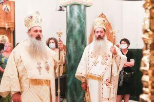 Ο Σταγών και Μετεώρων Θεόκλητος στην Ιερά Μητρόπολη Φθιώτιδος.