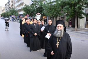 Υποδοχή της Ι. Εικόνας της Παναγίας της Παραμυθίας στον Ι. Ναό Αγίου Δημητρίου Πολιούχου Θεσσαλονίκης
