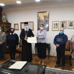 21/10/2020. Υπογραφή συμφώνου συνεργασίας της Ιεράς Μητροπόλεως με τον Σύλλογο Γονέων και Κηδεμόνων του Ειδικού Δημοτικού Σχολείου Αλεξανδρούπολης.