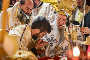 Αρχιερατικό συλλείτουργο στον Άγιο Γρηγόριο Παλαμά με Θεσσαλονίκης Άνθιμο και Λαγκαδά Ιωάννη
