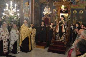 19 Αρχιερείς στον πανηγυρικό  εσπερινό της ανακομιδής των ιερών λειψάνων του Αγίου Καλλινίκου Εδέσσης
