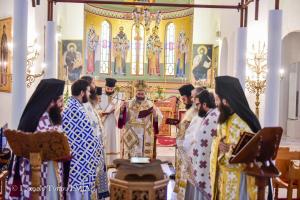 Η λειτουργία του Αγίου Ιακώβου του Αδελφοθέου ανήμερα της εορτής του στην Ι.Μητρόπολη Λαγκαδά