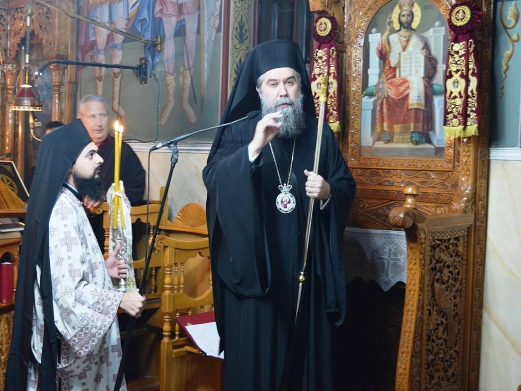"""Σερρών Θεολόγος: «Η Ορθόδοξος Εκκλησία μας, """"εργαστήριον"""" αγιότητος, """"διδασκαλείον"""" ενθέου βίου και της ακαινοτομήτου αληθείας του Χριστού»"""