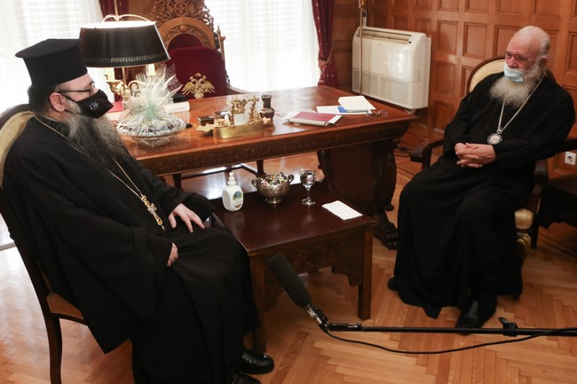 "You are currently viewing Αρχιεπίσκοπος Ιερώνυμος : ""Πιστεύω πως η συνεργασία μας θα είναι γόνιμη και αγαστή"""