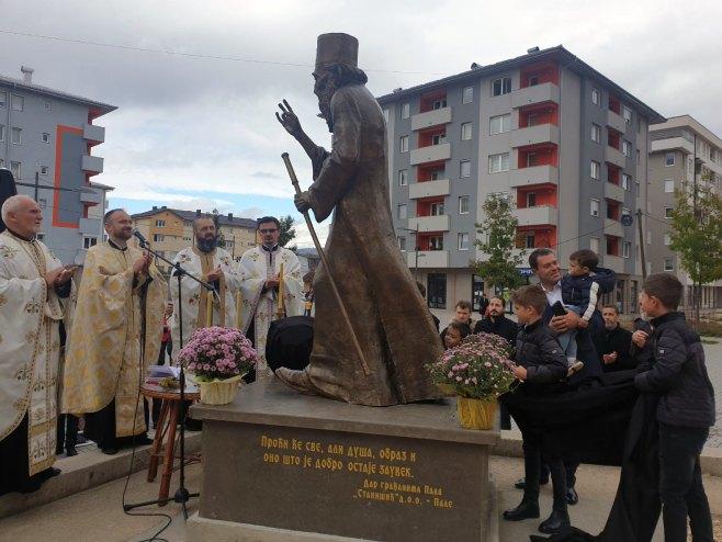 Τοποθετήθηκε μνημείο για τον μακαριστό Πατριάρχη Σερβίας Παύλο
