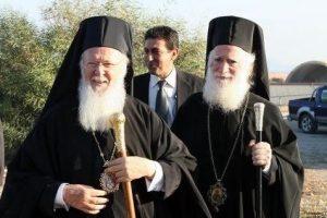 Γράμμα Οικουμενικού Πατριάρχη προς τον Αρχιεπίσκοπο Κρήτης