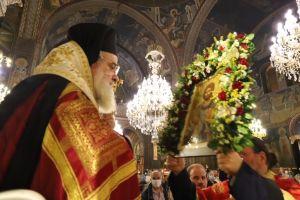 Πανηγυρικά η μνήμη του Αγίου Αρτεμίου στο Παγκράτι